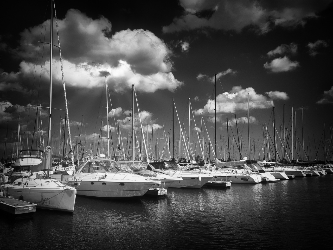 Columbia Yacht Club Harbor