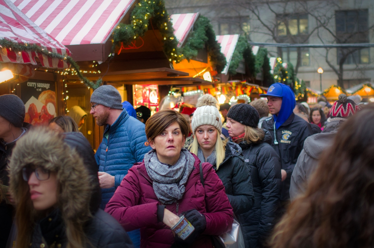 Christkindlmarket Crowd
