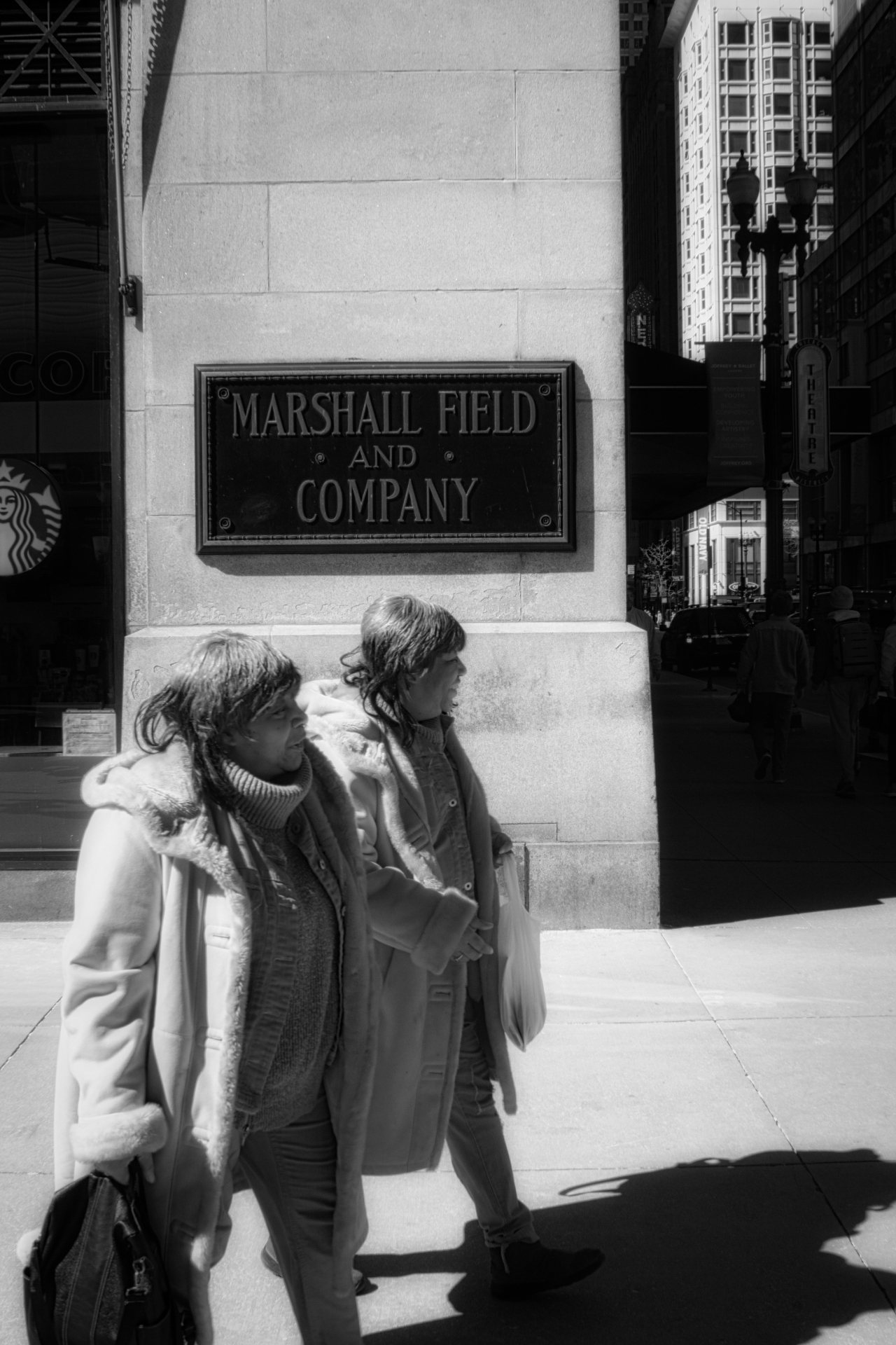 Ladies at Marshall Field's